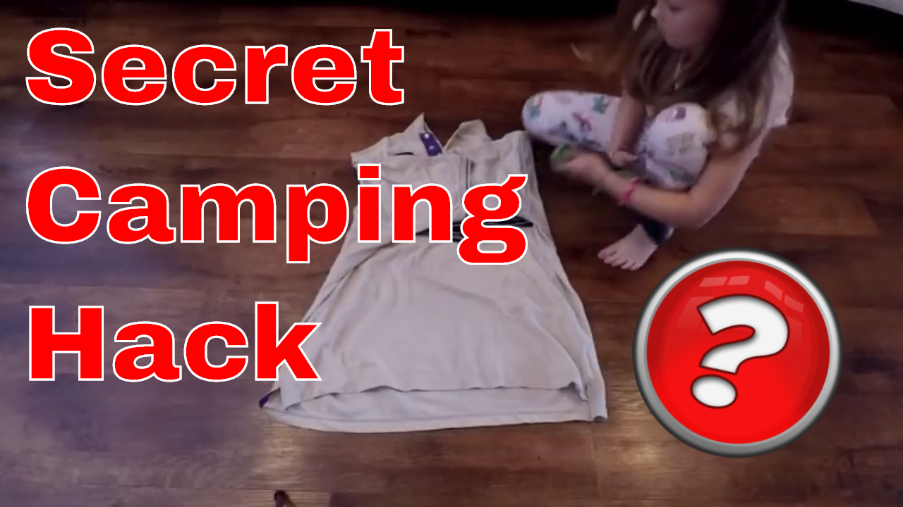 Secret Camping Hack revealed- The Skivy Roll