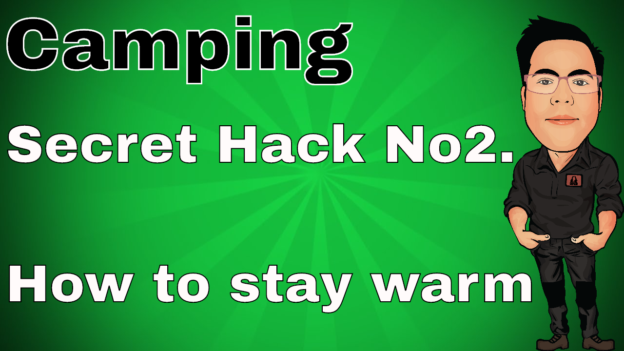 Secret Camping Hack revealed – Staying warm in a sleeping bag using Thermawrap