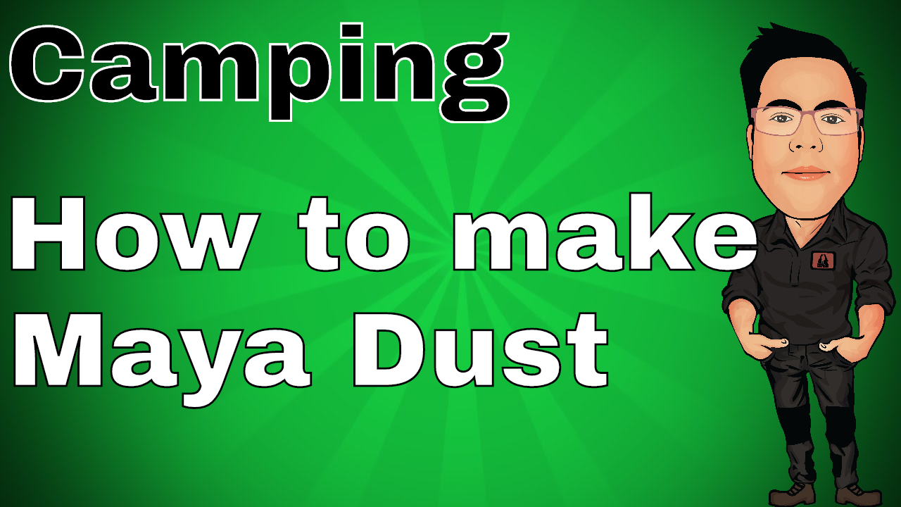 How to make Maya Dust