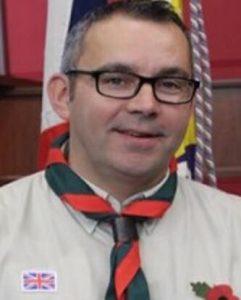 Stuart Bailey - A Cub Scout Leader