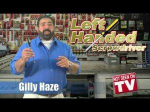 Left Handed Screwdriver
