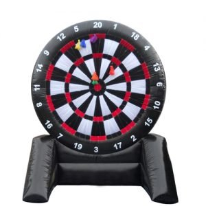 An inflatable Dartboard