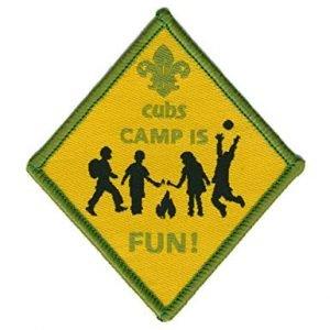 Cub camp is fun