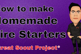 How to make homemade Fire starters Vlog