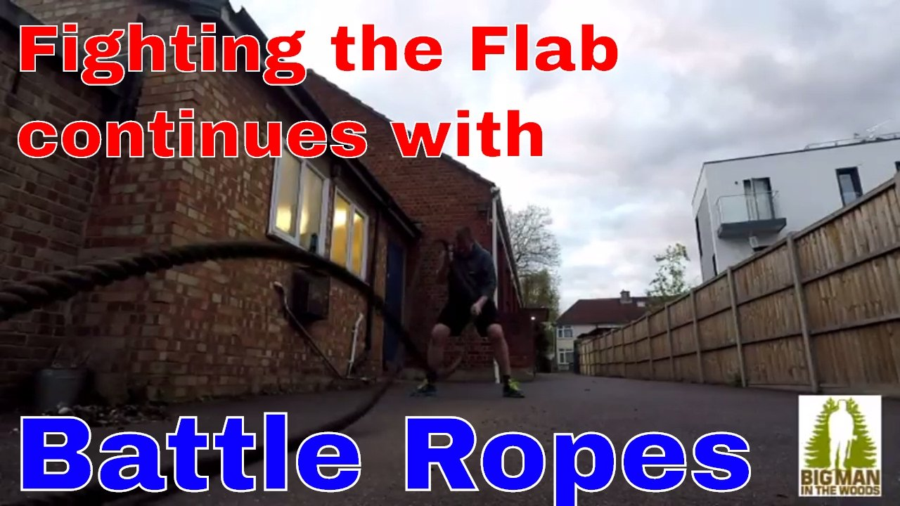 My 1st ever Battle Ropes PT Session