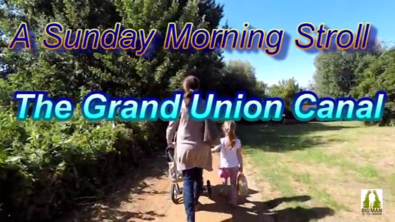 A Sunday Stroll along The Grand Union Canal