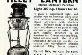 tiley lamps advert