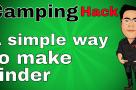Pencil Sharpener - Simple way to make tinder