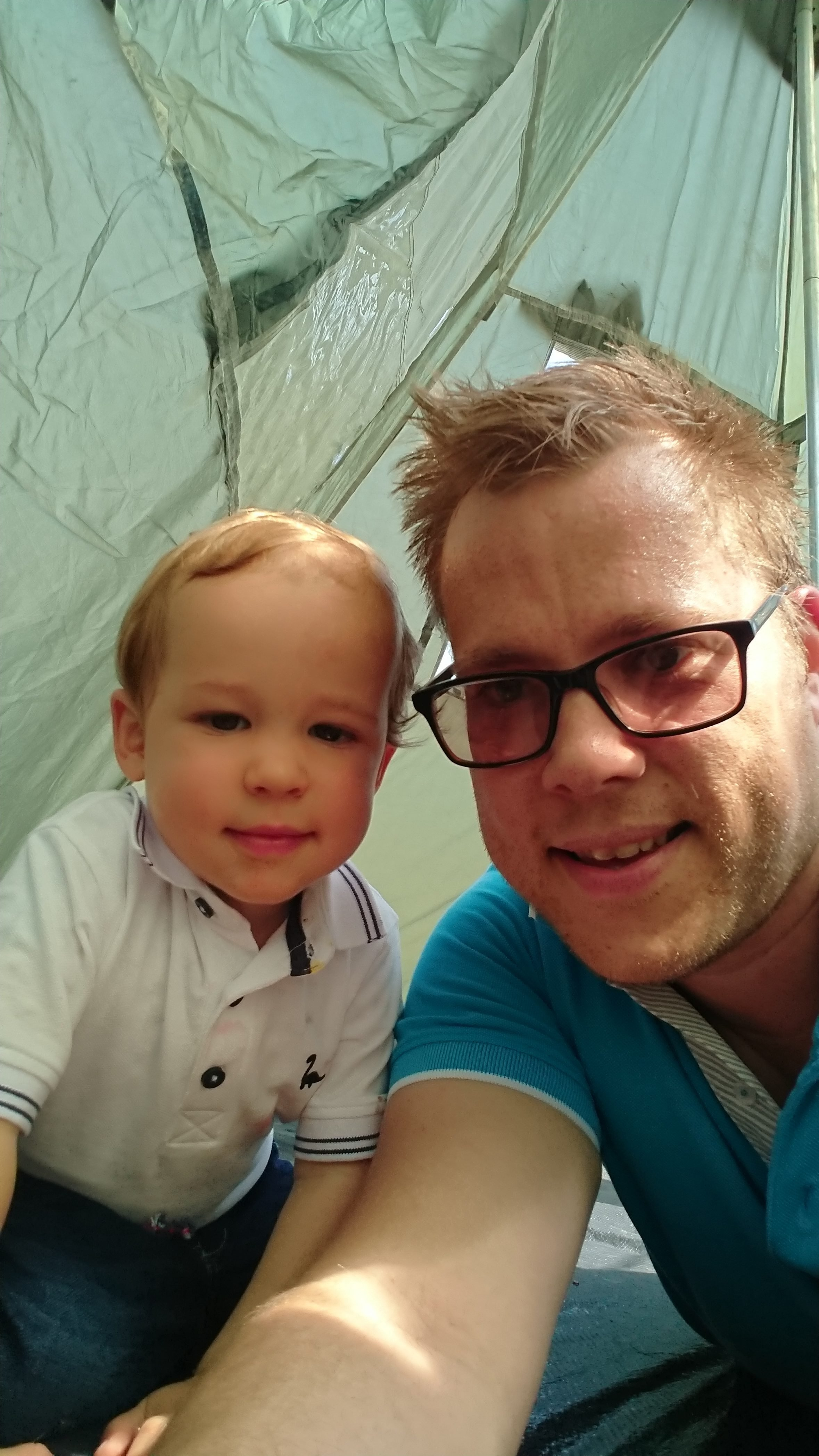 Lad's & Dad's camping trip