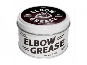 Tin of Elbow Grease