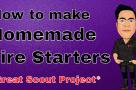 How to make homemade Fire starters Vlog