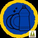 The washing up badge
