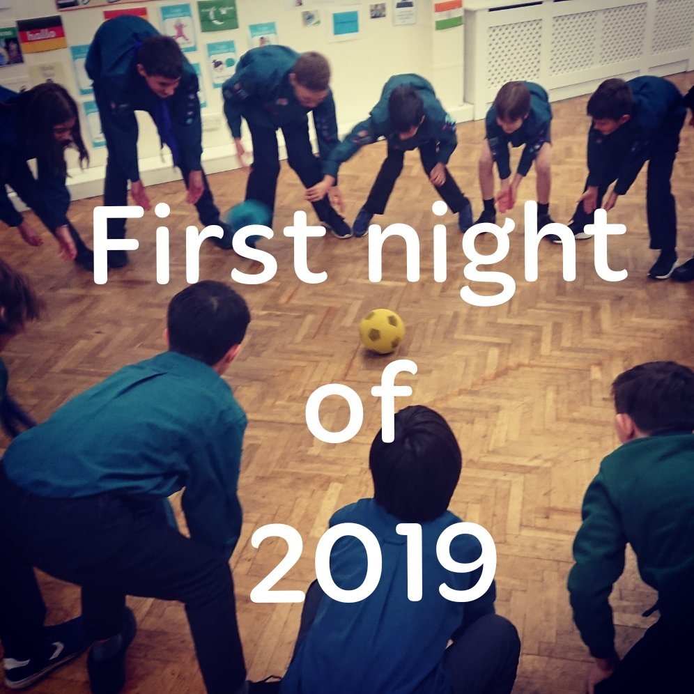 First night of 2019