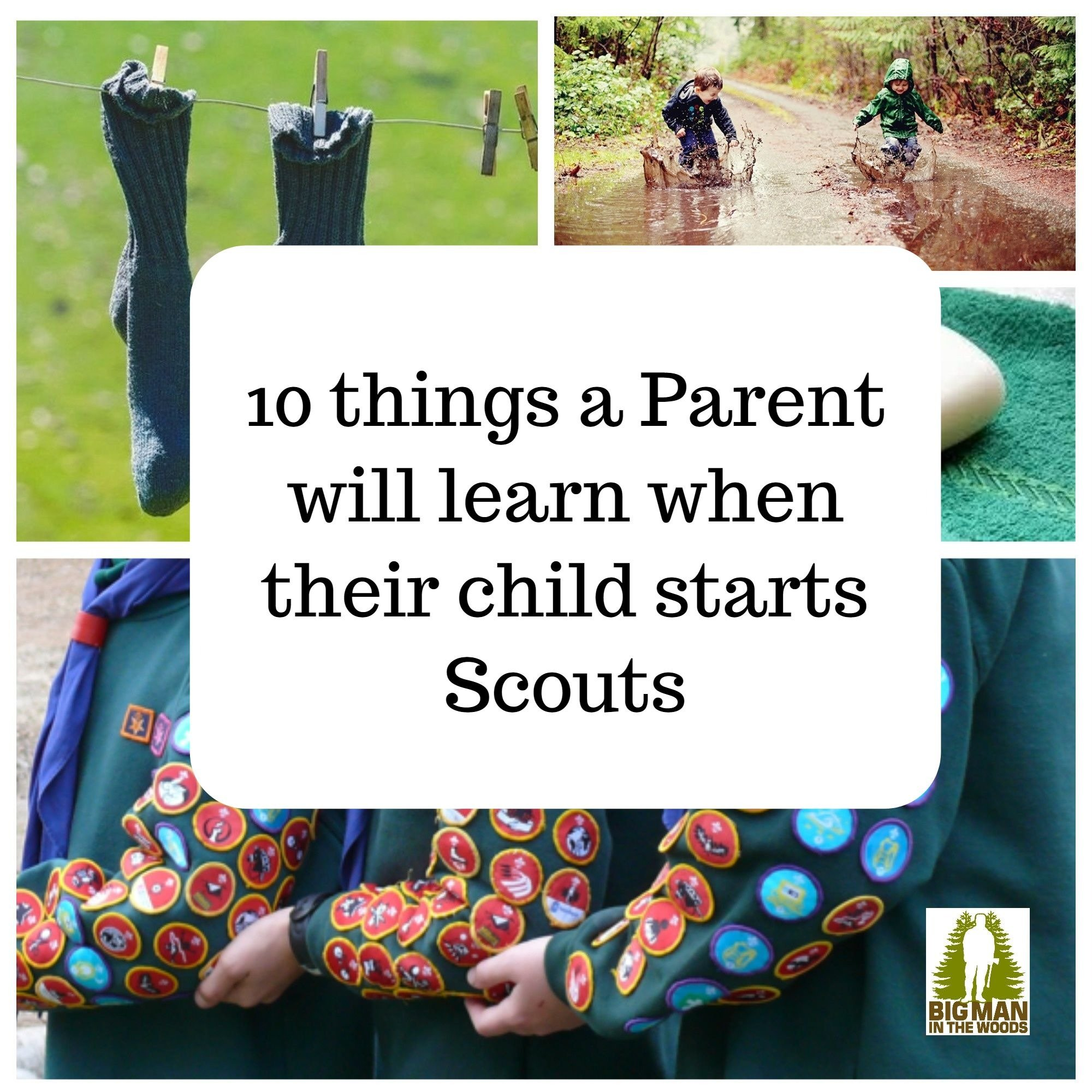 10 things you learn when your child starts Scouts