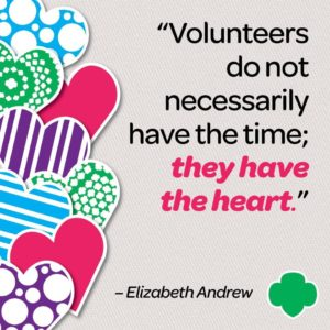 Volunteers dont necessafrily have the time_ they have the heart