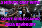 5 Minute Chat with Scout Ambassador Julia Bradbury