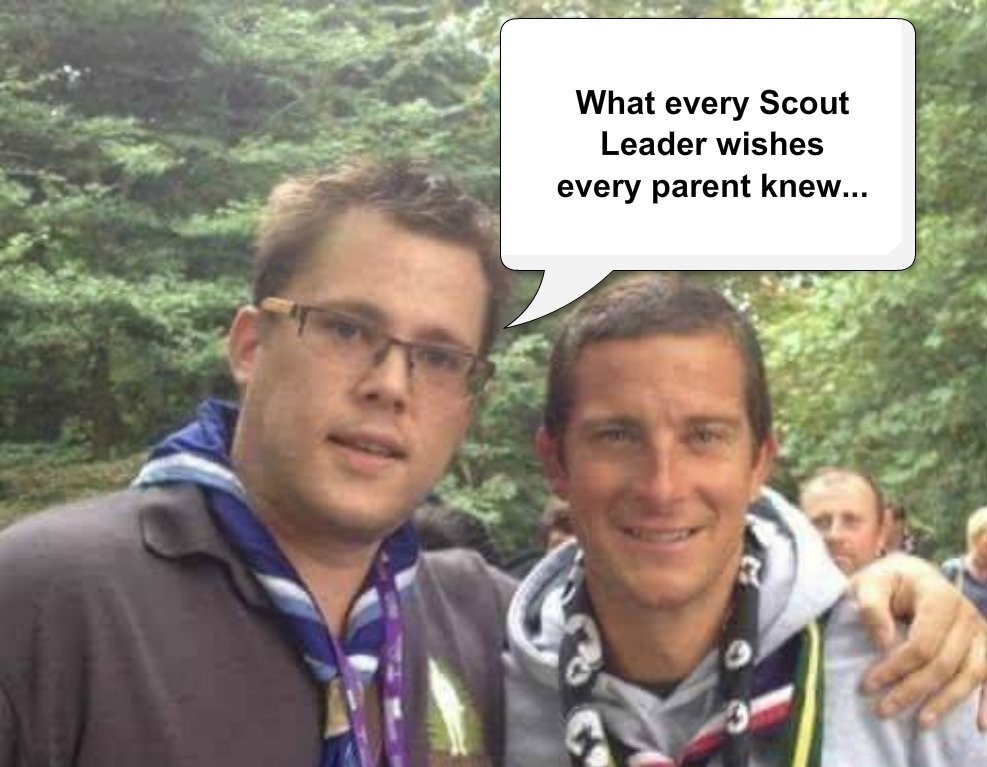 What a Scout Leader wishes every parent knew