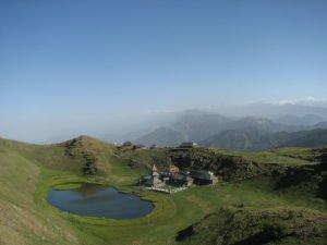 Prashar lake, Himachal pradesh, India