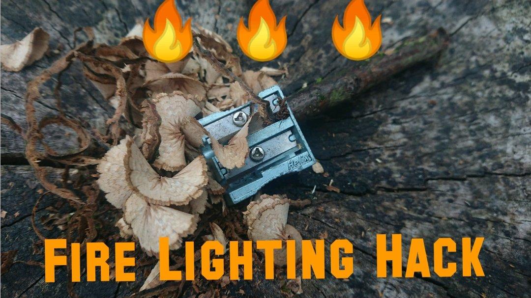 🔥 🔥 🔥 Fire Lighting Hack 🔥 🔥 🔥