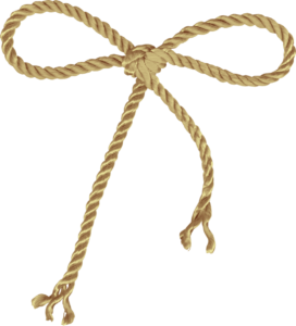 Bow on a rope