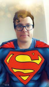big man as superman