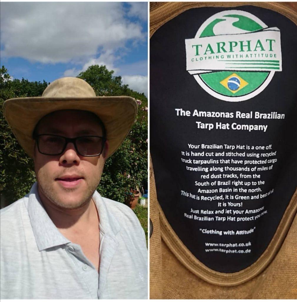The Brazilian Tarp Hat
